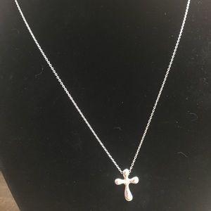 Tiffany & Co. Elsa Peretti Cross Necklace